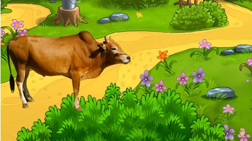 Dạy bé tập nói bằng hình ảnh-con bò