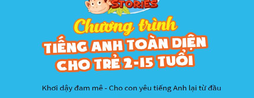 ứng dụng học tiếng anh Monkey stories
