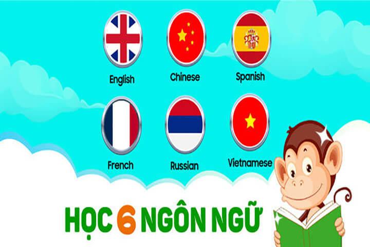ứng dụng monkey junior học-6-ngôn-ngữ