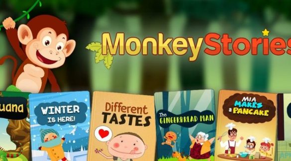 Đánh giá phần mềm học tiếng anh cho bé Monkey Stories