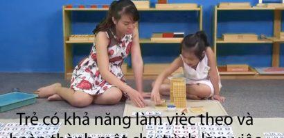 Dạy trẻ học toán theo phương pháp Montessori
