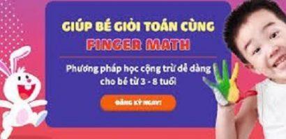 Học toán theo phương pháp Fingermath có tốt không?