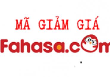 Mã giảm giá Fahasa, voucher Fahasa khuyến mãi tháng 3/2019