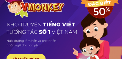 VMonkey là gì? Vì sao cha mẹ nên chọn kho truyện tranh tiếng Việt VMonkey cho con.
