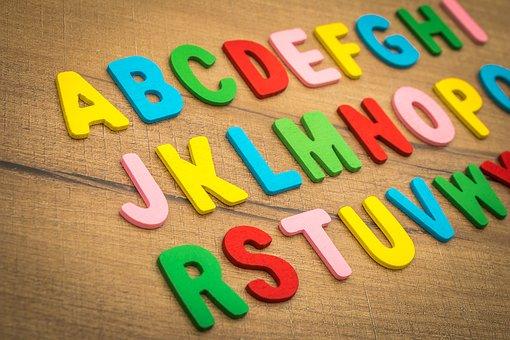 Học tiếng anh từ sớm-chữ cái tiếng anh