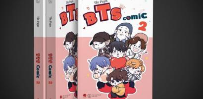 BTS Comic 2 có gì mà thu hút bạn đọc như vậy?
