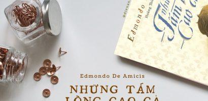 """Ai cũng có """"Những tấm lòng cao cả"""" – Edmondo De Amicis"""