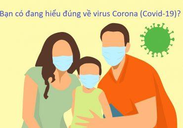 Bạn có hiểu đúng về virus Corona (Covid-19)?
