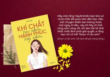 Khí chất bao nhiêu hạnh phúc bấy nhiêu – Cuốn sách dành cho những cô gái muốn làm chủ hạnh phúc đời mình!