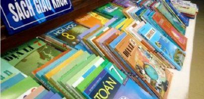 Giá bộ sách giáo khoa năm học 2019-2020